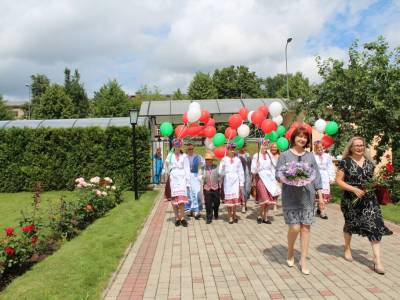 У Даўгаўпілсе прайшоў флэшмоб «Vivat, Беларусь!»