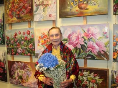 У Беларускім доме адзначылі 90-гадовы юбілей Настассі Сазанковай